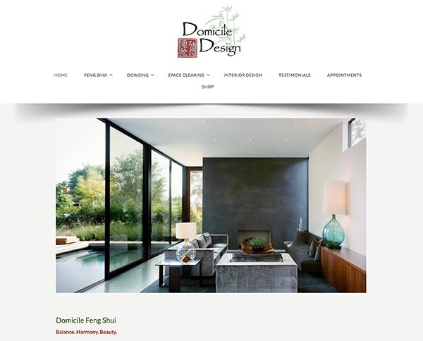 domicile fengshui wordpess web design
